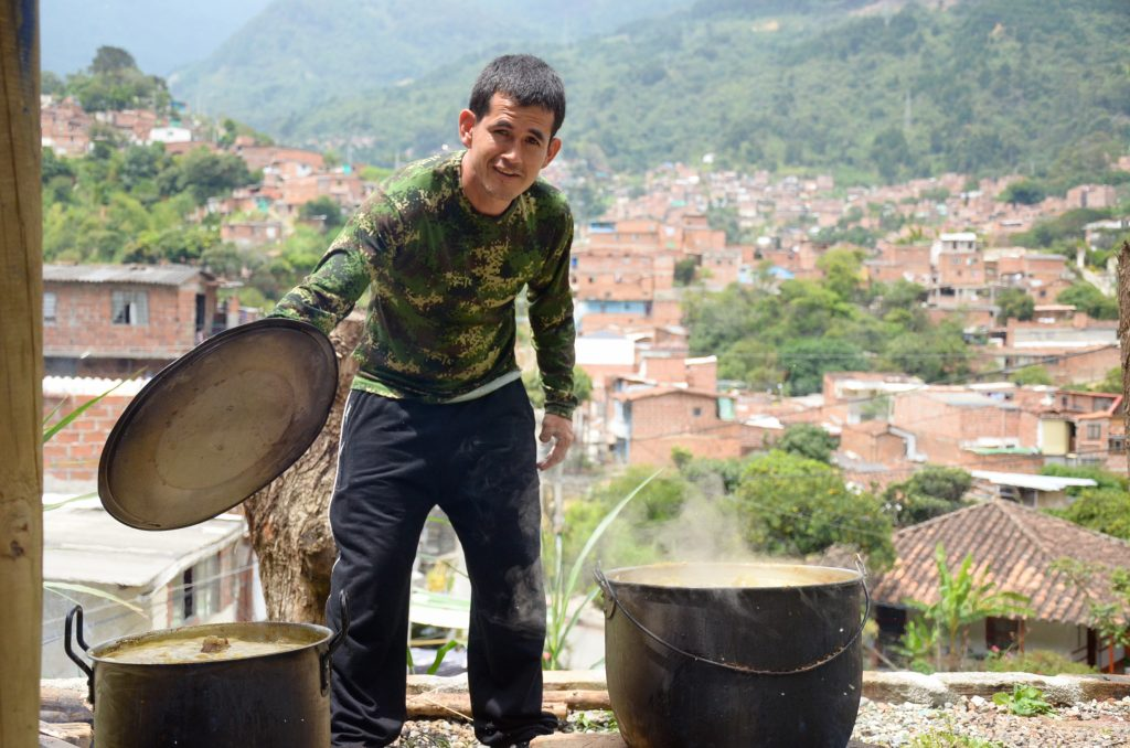Comuna 8 style hospitality feeding community auditors with more than data.